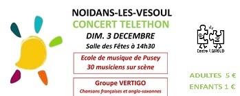Concert « Téléthon »